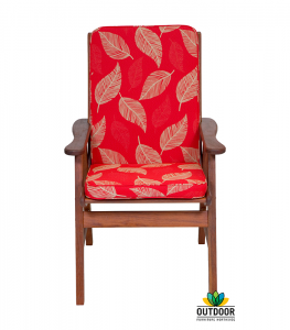 Chair Cushion Camburi Red