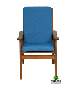 Chair Cushion Cobalt Blue