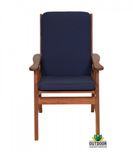 Chair Cushion Navy Blue