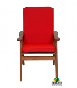 Chair Cushion Red