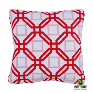 Throw Cushion Natadola Red