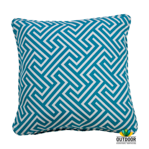 Throw Cushion Negril Aqua