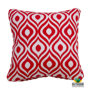Throw Cushion Pinamar Red