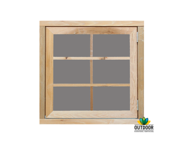 Opening Window with Acrylic Glazing Option