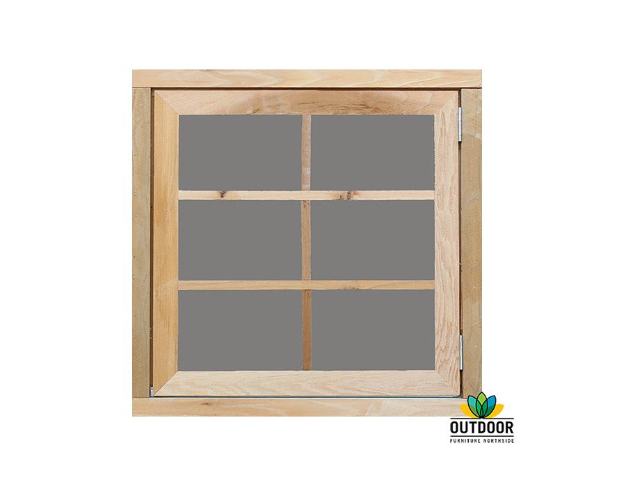 Opening Window with Acrylic Glazing Option