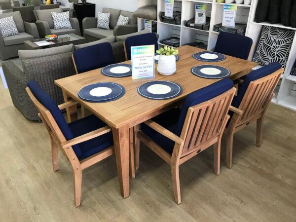 7-Piece-Negev-Teak-Dining-Setting