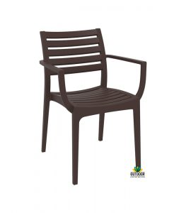 Artemis Chair Chocolate