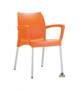 Dolce-Chair-Orange