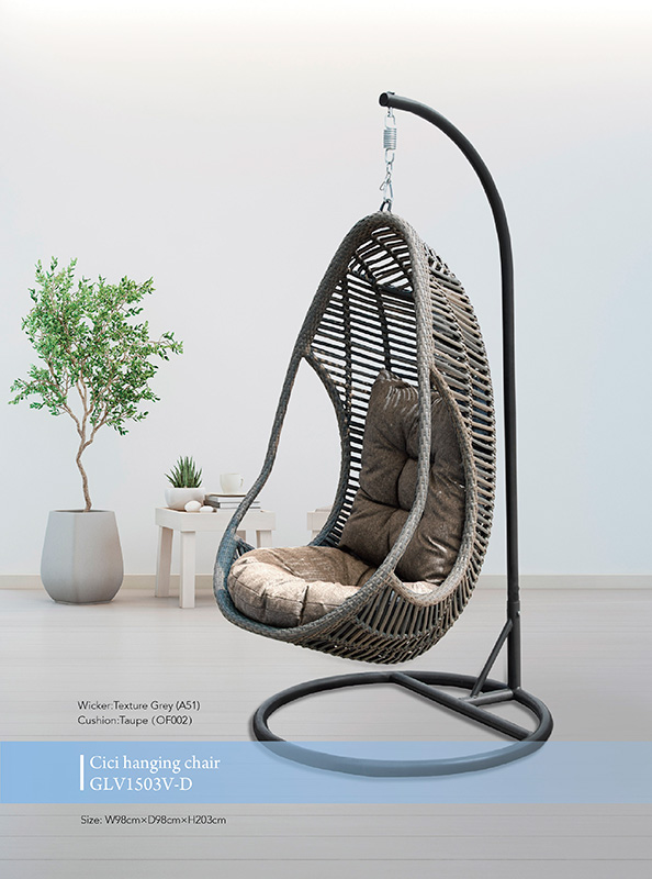 Cici Hanging Egg Chair Outdoor Furniture Northside