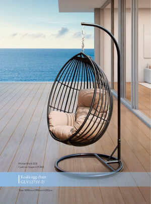 Koala-Hanging-Egg-Chair-Black