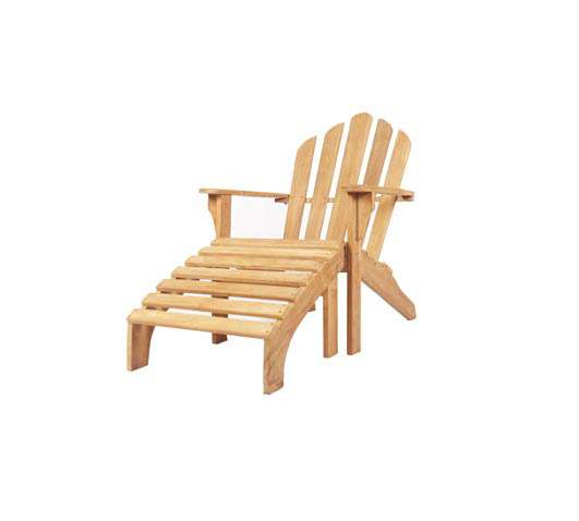 Adirondack-Chair-WIth-Stool