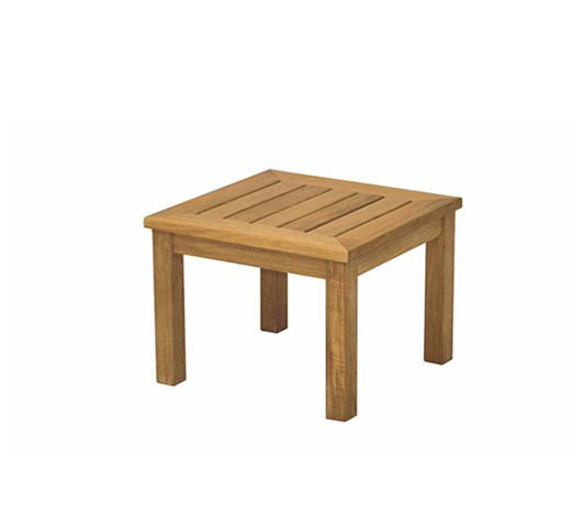 Teak Coffee Table - 50 x 50cm - Outdoor Furniture Northside