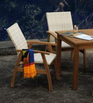 Outdoor Chairs Teak
