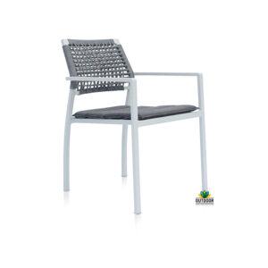 Bretagne Rope Chair White