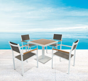 Outdoor Chairs Aluminium