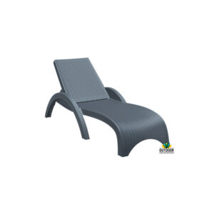 Fiji Sun Lounger Anthracite