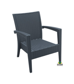 Tequila Lounge Armchair Anthracite