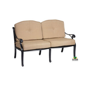 Nassau 2 Seater Lounge Bronze Natural