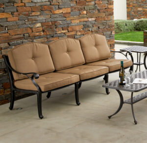 Nassau 3 Seater Bronze Natural