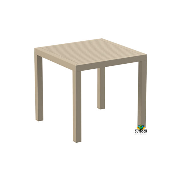 Ares Table 80 Taupe