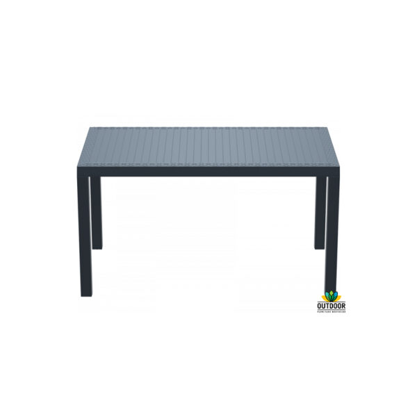 Orlando Table 140 Anthracite