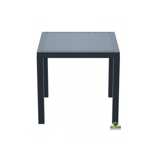 Orlando Table 80 Anthracite