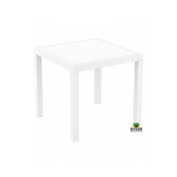 Orlando Table 80 White
