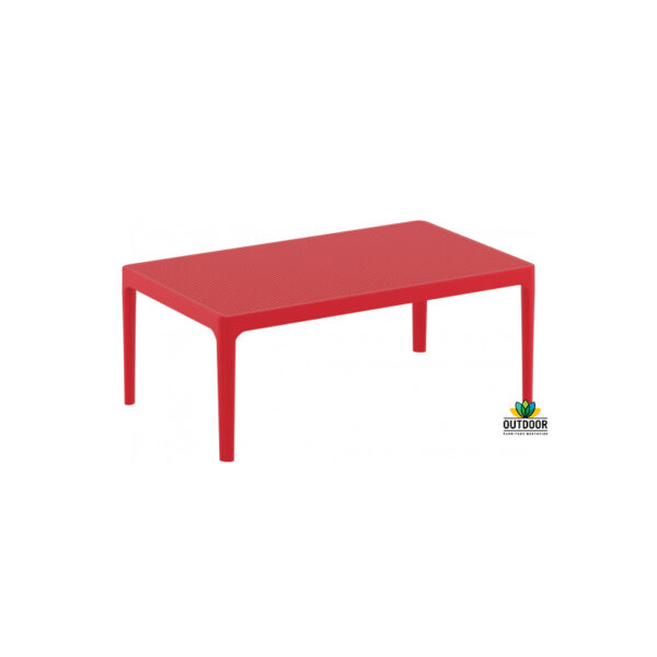 Sky Lounge Table Red
