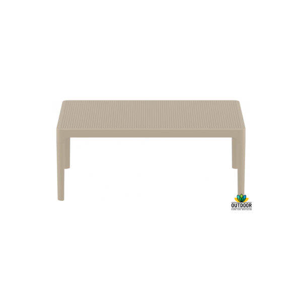 Sky Lounge Table Taupe