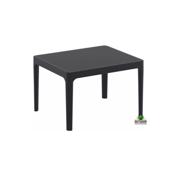 Sky Side Table Black