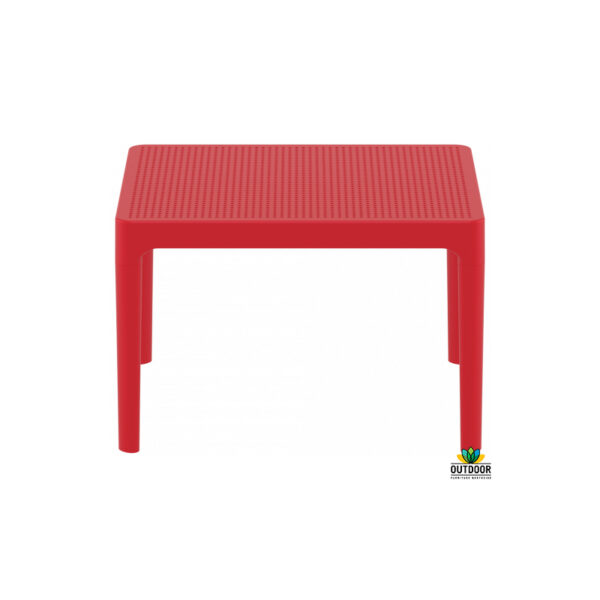 Sky Side Table Red
