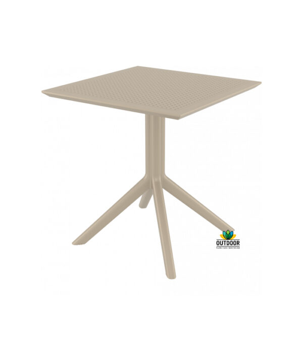 Sky Table 70 Taupe