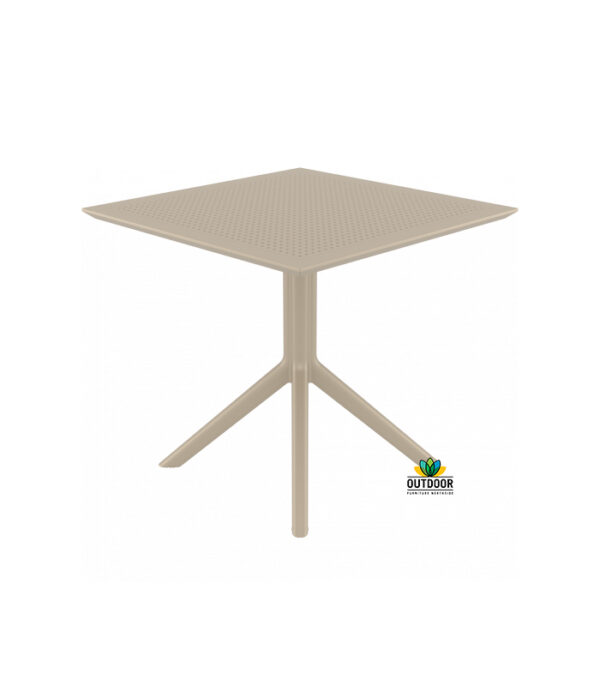 Sky Table 80 Taupe