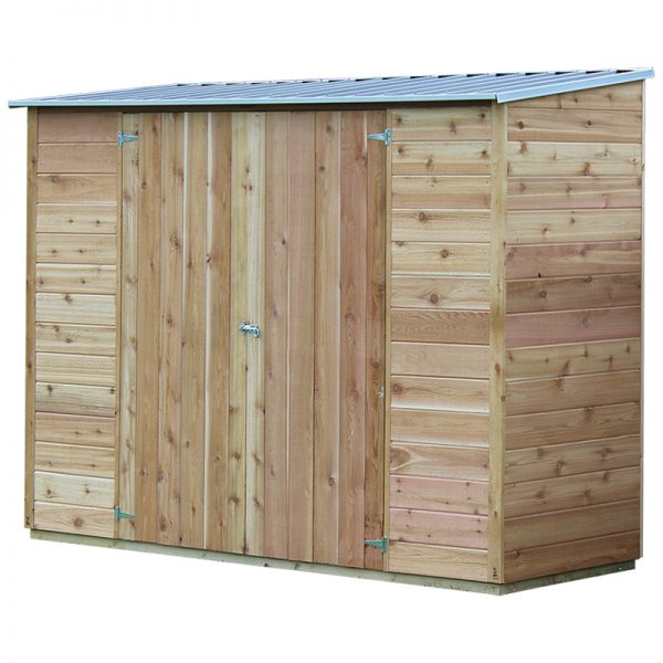 Acacia 8x3 Cedar Shed