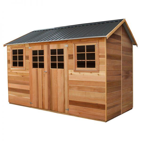 Maple 12x6 Cedar Shed