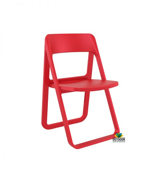 Dream Folding Chair Red