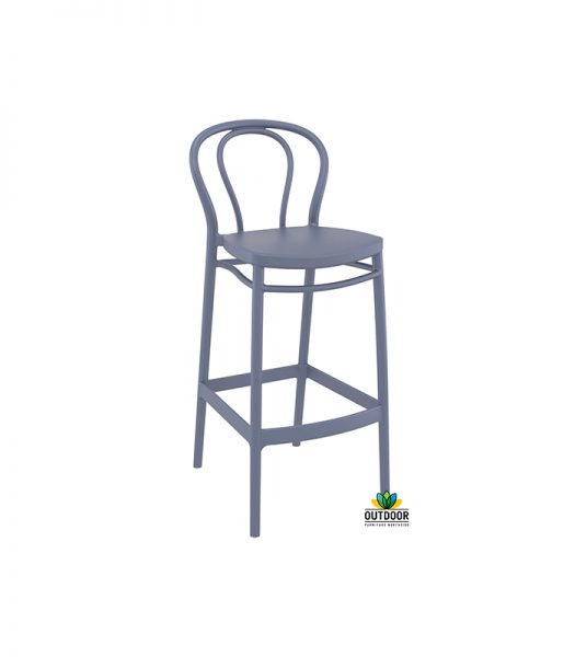 Victor Barstool Anthracite