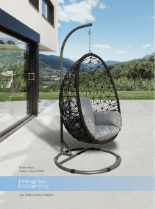 Web Rope Hanging Egg Chair