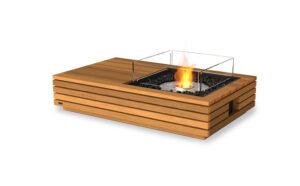 Manhattan EcoSmart Fire Table Teak