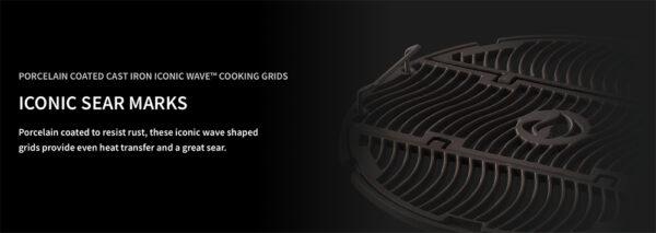 Pro Charcoal Kettle Grill Porcelain Enameled Grills