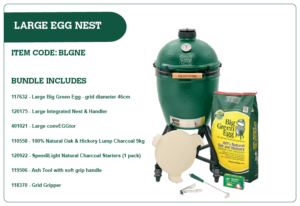 Big Green Egg Large Egg Nest Bundle
