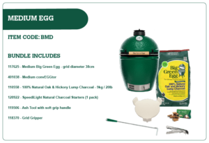 Big Green Egg Medium Egg Bundle