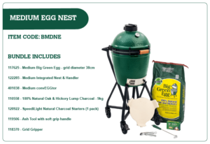Big Green Egg Medium Egg Nest Bundle