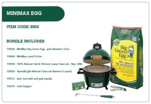 Big Green Egg MiniMax Egg Bundle