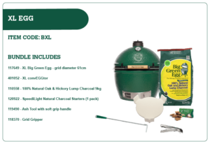 Big Green Egg XL Egg Bundle