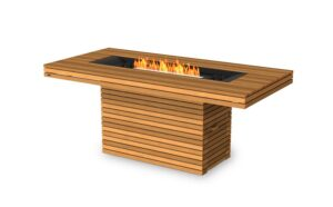 Gin 90 Bar Fire Pit Table Teal