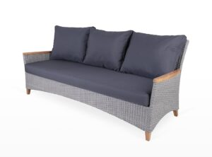 Florence 3 Seater Wicker Lounge