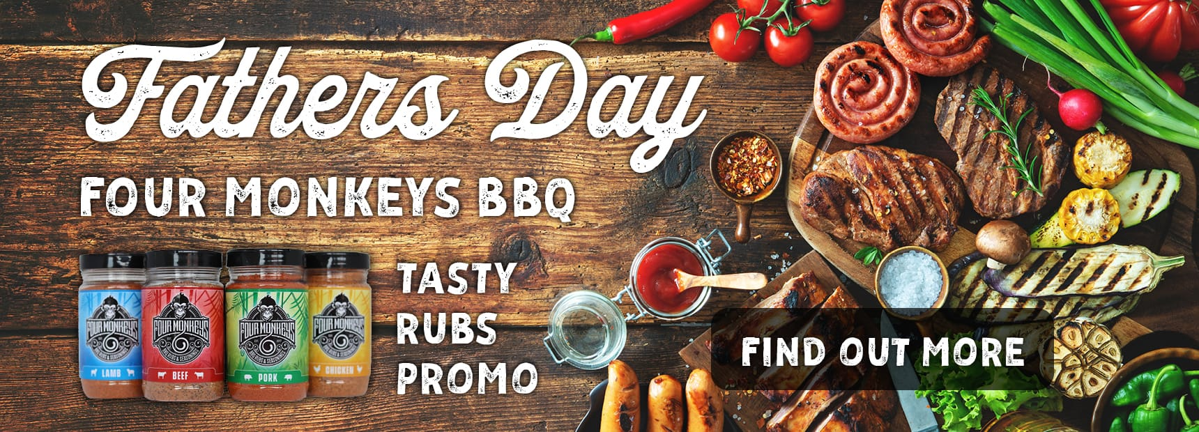 Father Day BBQ Promo