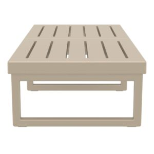 Mykonos Lounge Table XL Taupe Taupe